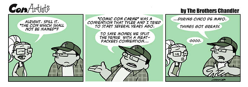 Comic Con Carne